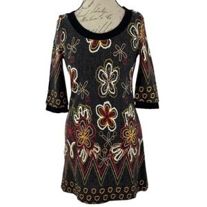 FUNKY PEOPLE | Boho Floral Print Mini Dress